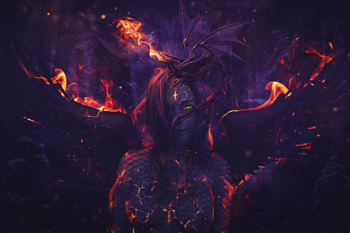 Fire Dragon - Andy Art