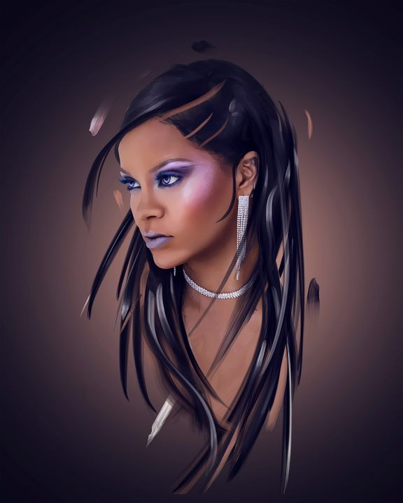 Rihanna - Andy Art
