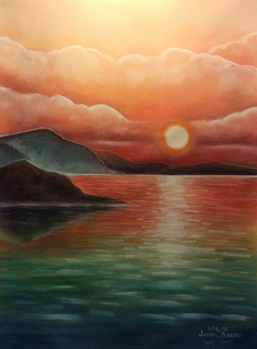 Sun rise - magic city art