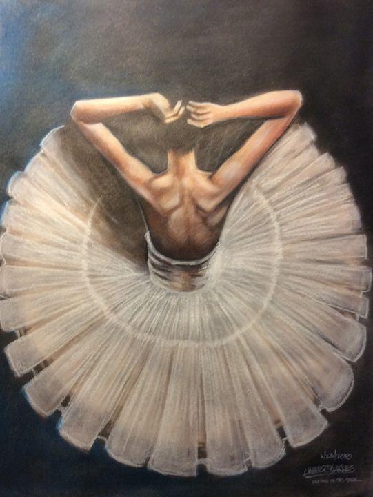 The Ballerina - magic city art