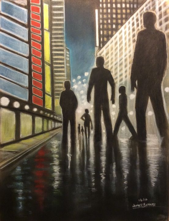 From Dusk till Dawn - magic city art