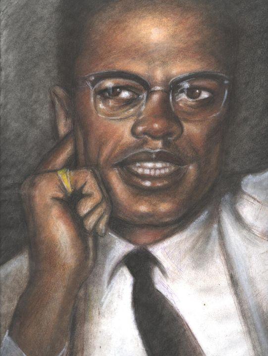 Malcolm X - magic city art