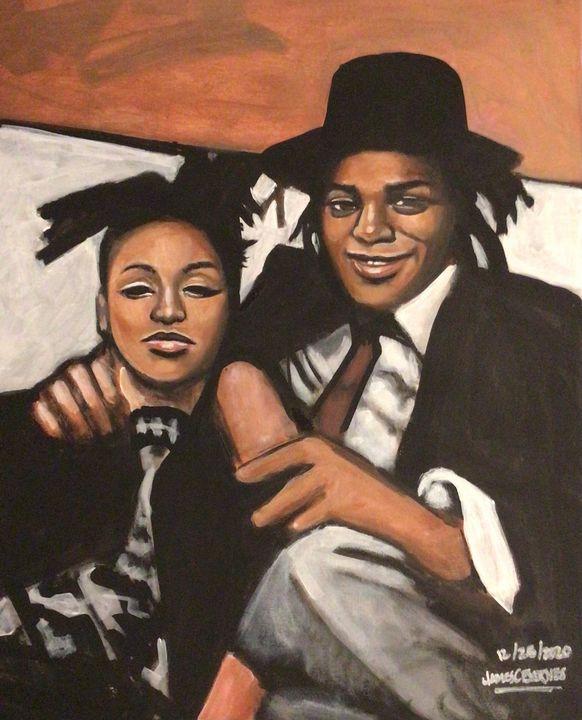 Jean Michel Basquiat - magic city art