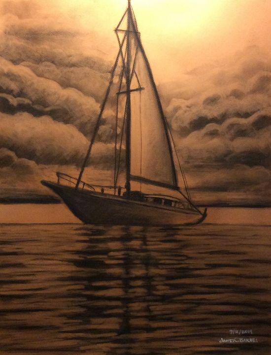 Sailing Anyway - magic city art