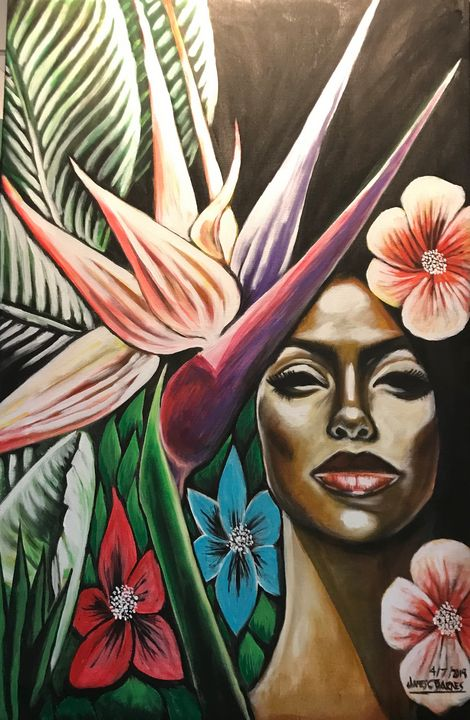 Jazz in the Garden - magic city art