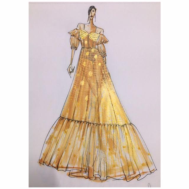 Fashion illustration - Piyush gupta