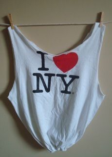 I Love NY Recycled T-shirt Tote Bag - Ethereal Fruit