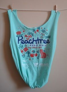 Peachtree Road Race T-shirt Tote Bag - Ethereal Fruit