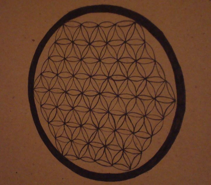 Ink Flower of Life - Ethereal Fruit