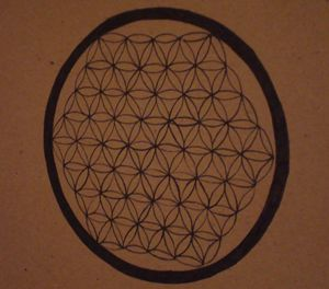Ink Flower of Life