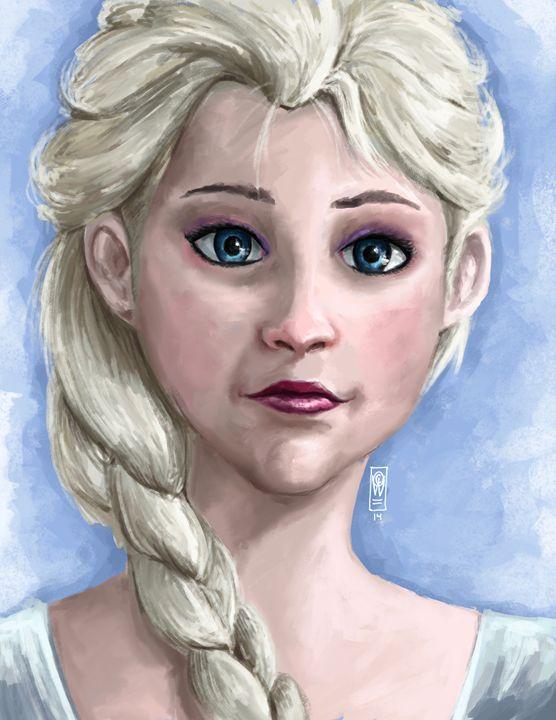 Elsa Frozen - Andrew Chambers