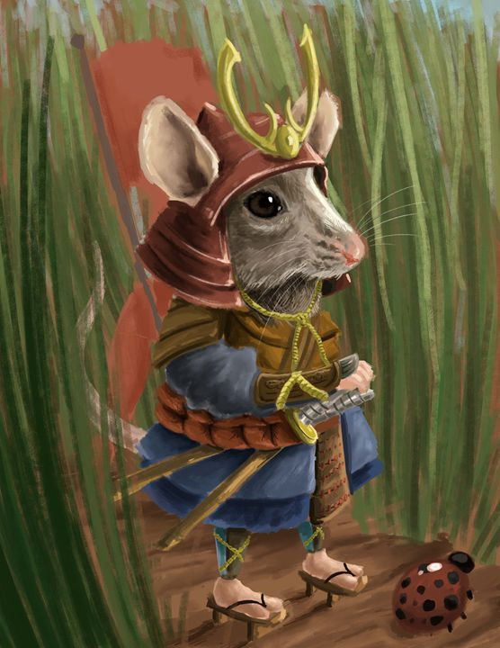 Mouse Warrior - Andrew Chambers