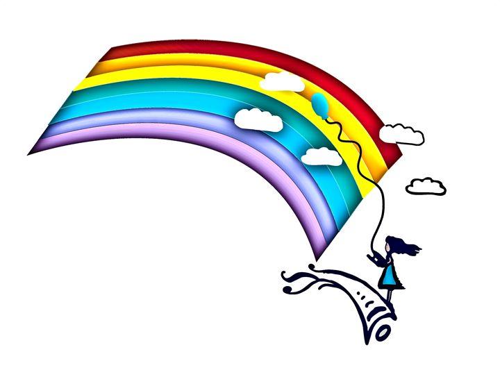 Rainbow Girl - Deliratio