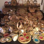 Big Pine Needle Baskets