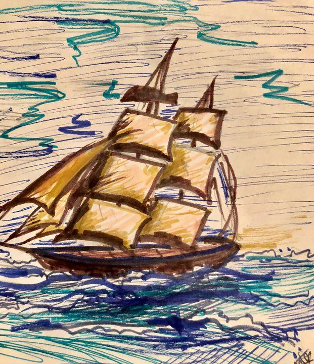 Sailing - Kati Shorty