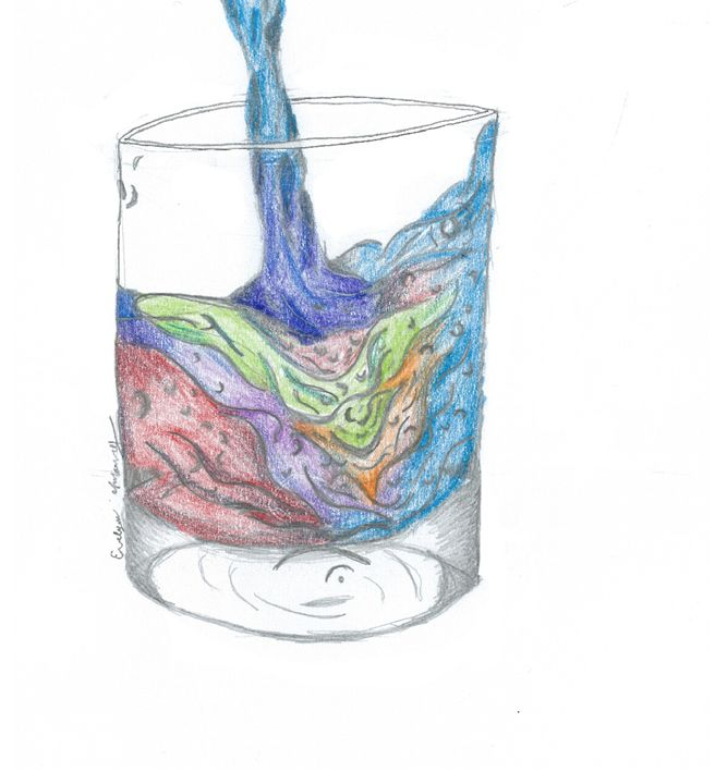 rainbow water - Evelyn Flannery