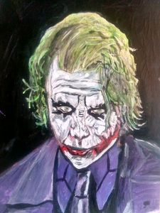Joker. Heath Ledger. The Dark Knight