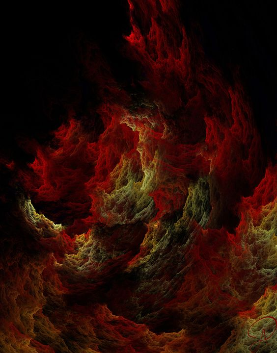 Burning in Hell - Designs by Amerianna