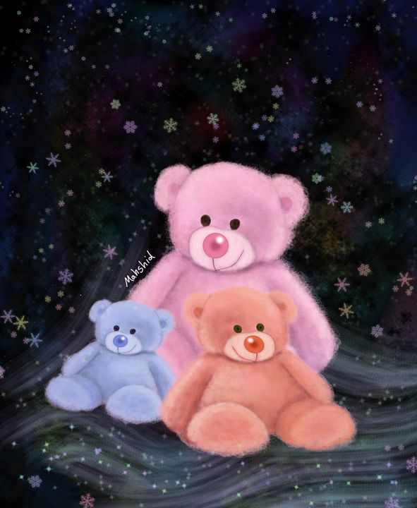 Teddy bears - Mahshid