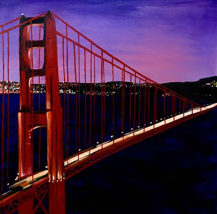 A Golden View - Natalie Elliott