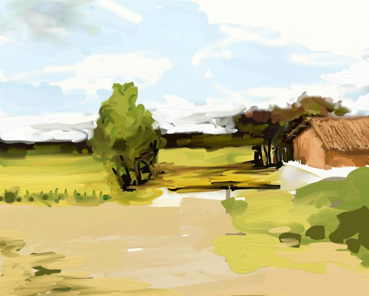 Sunshine & Shadow - manupal@painter
