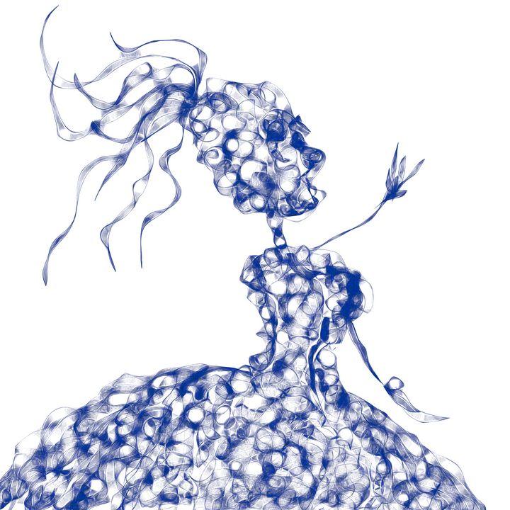 dancing lady - Maria