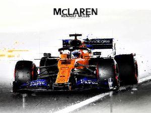F1 McLaren Renault Carlos Sainz