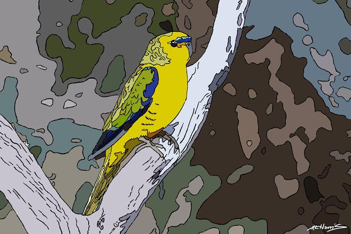 Elegant Parrot - KLHarris