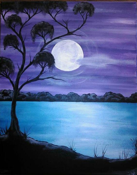 Pale Moon Rising - designs by dan /  Danny White