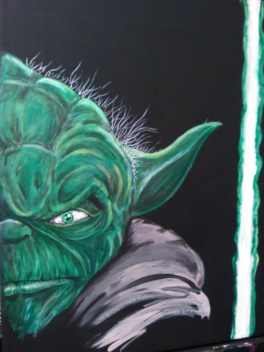 Master Yoda - designs by dan /  Danny White