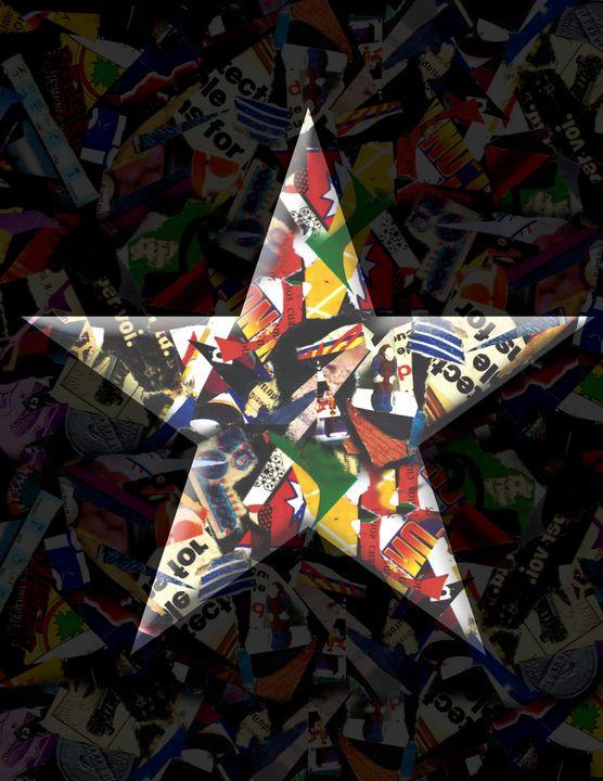 STAR 4 - Fabian Giles Art