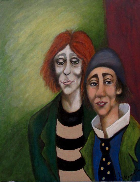 Send in the Clowns - Sally's Art