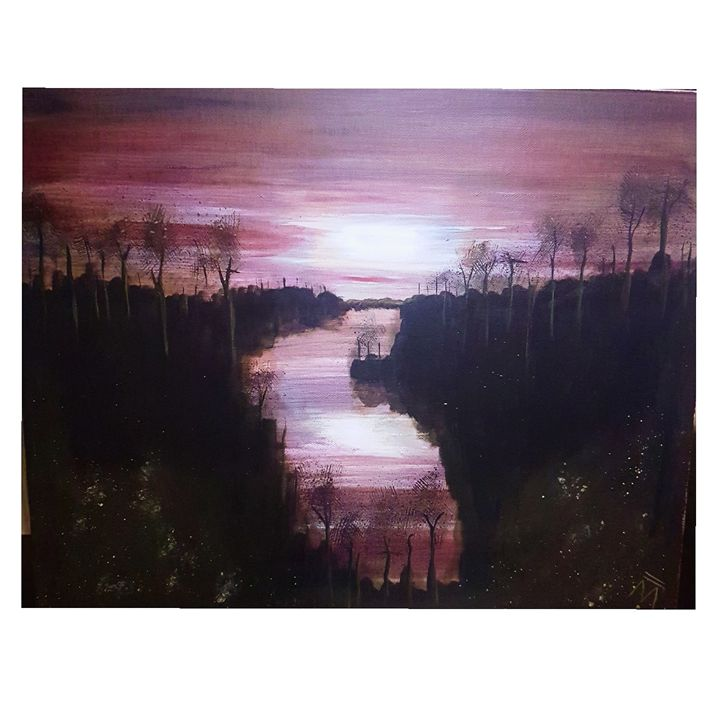 Night river - MBrown
