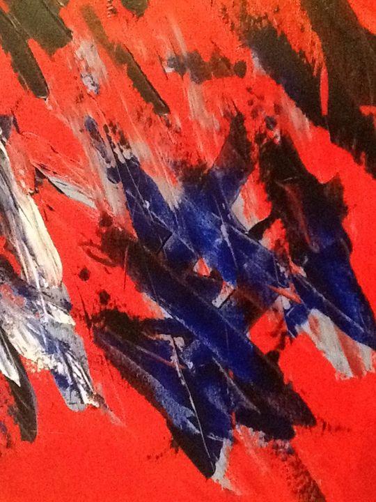 Abstract Red - Robin