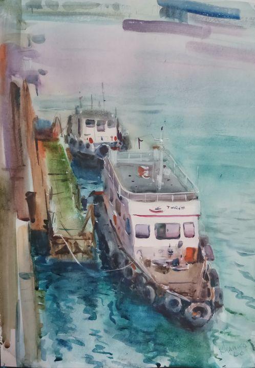 Hard workers of the seas - Yaroslav Khanko