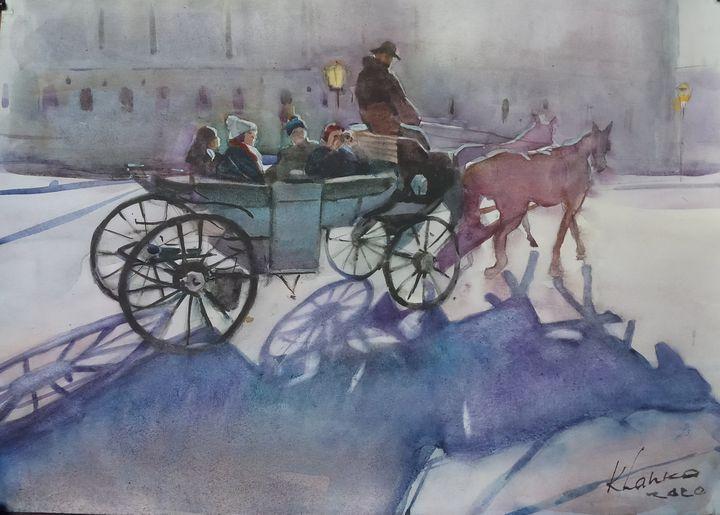 Horse carriage ride - Yaroslav Khanko