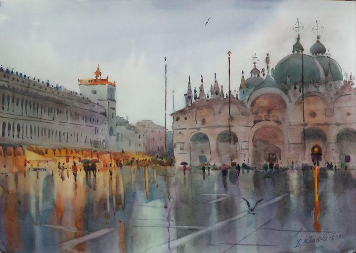 Venice. St.Marco square - Yaroslav Khanko