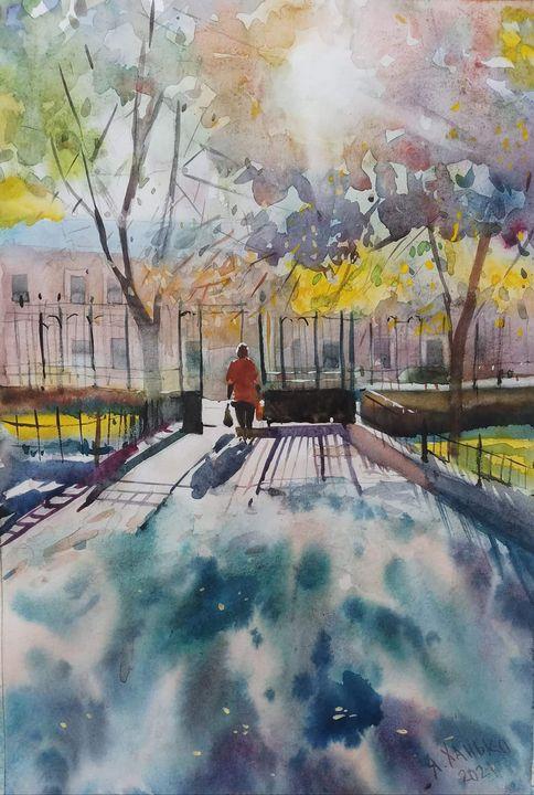 Autumn Sun - Yaroslav Khanko
