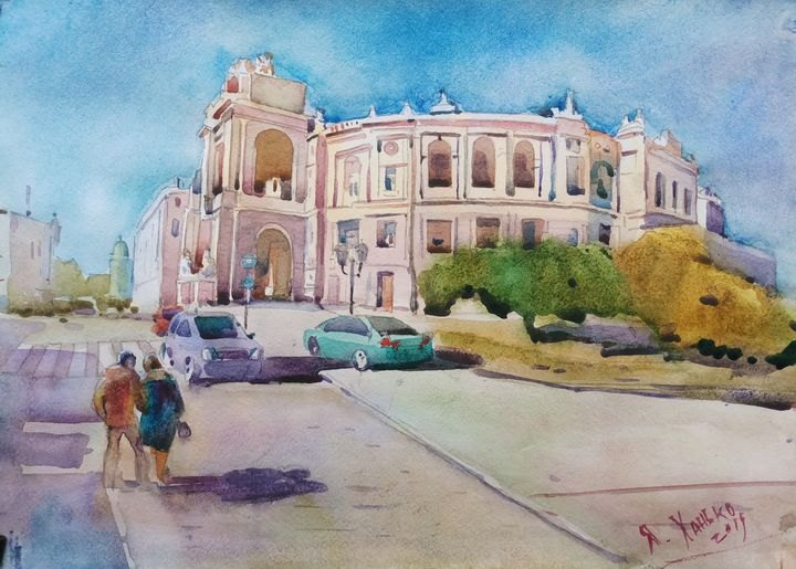 Opera house in Odessa - Yaroslav Khanko