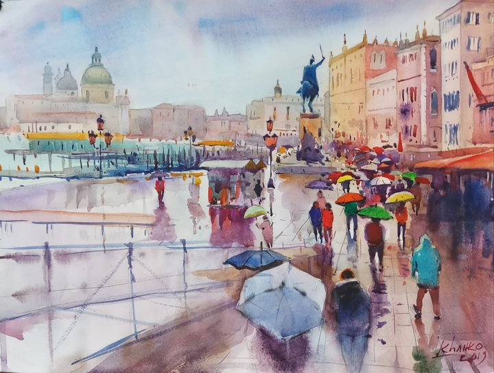 Venice cityscape - Yaroslav Khanko