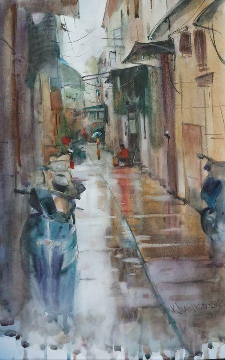 Rainy day in Macao - Yaroslav Khanko