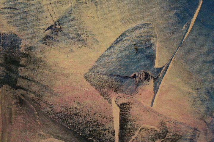 blue fish - абстрактный мир
