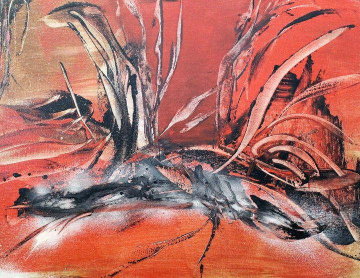 Red Heat - абстрактный мир