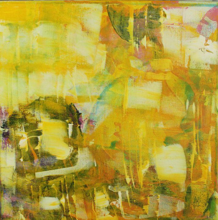 yellow city - абстрактный мир