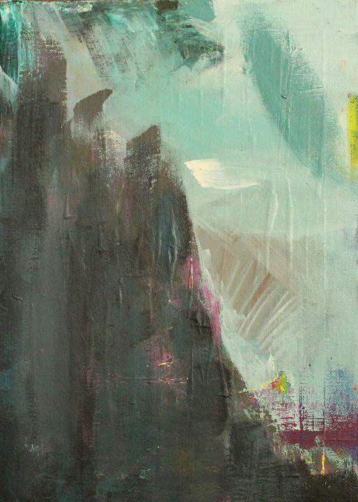 abstract mountain painting - абстрактный мир