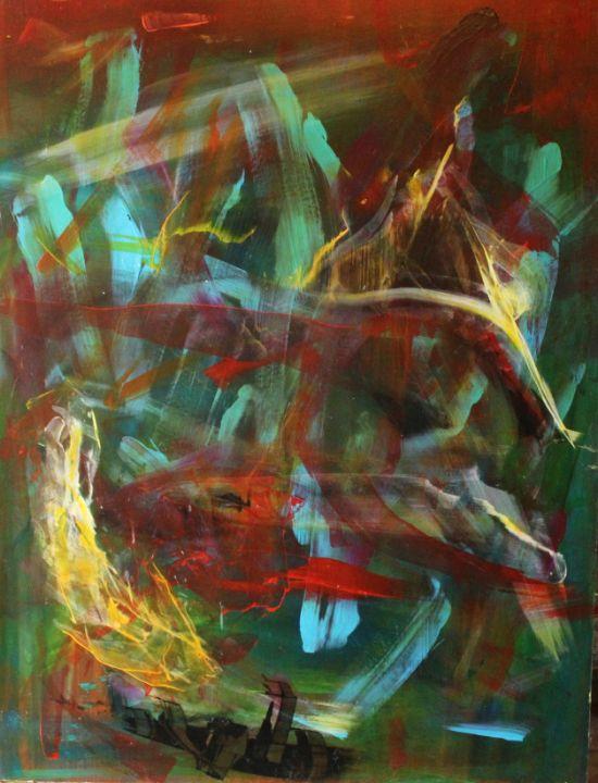 light in the depths - абстрактный мир