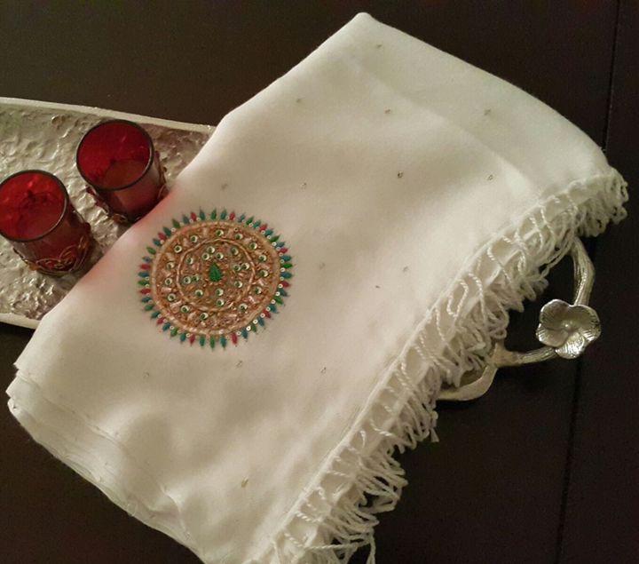 Pashmina - Silk Stole - SArt
