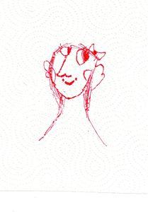 A Woman (Mona Lisa on a napkin)