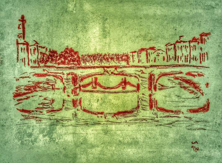 Ponte Santa Trinita - Stuart's Art Gallery