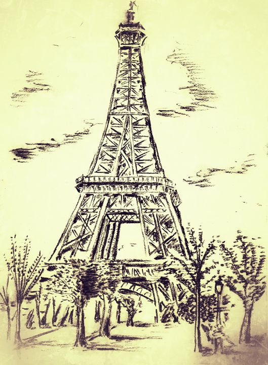 Eiffel Tower - Stuart's Art Gallery